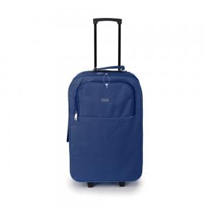 SUNRISE BAGS Βαλίτσα trolley navy-γκρι 49Lt 2087P-26-NV