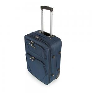 SUNRISE BAGS Βαλίτσα trolley navy 71Lt 2125N-31-NV